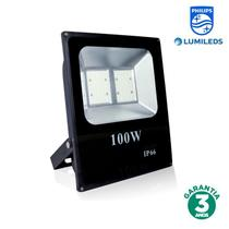 Refletor LED 100w Luz Branca Chip Philips 70107 - Iluctron