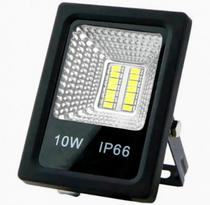Refletor Led 10w - Holofote Branco Frio Lampada Led 6500k - Megaace