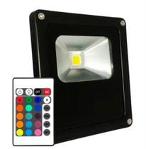 Refletor Led 30W RGB Uso Externo - Kit Led