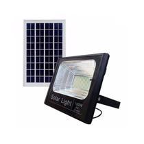Refletor LED Solar 100w Luz Branca BRIS100 - Brilhante