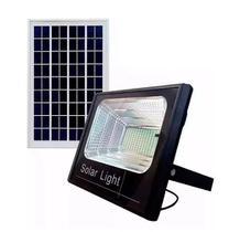 Refletor Luminária Holofote Led Placa Solar Completa 400w - Super Led