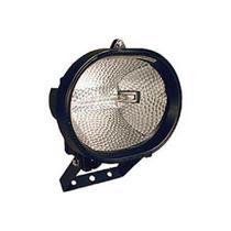 Refletor Oval sem Sensor Preto para Lâmpada 300/500w Ref. 6012 - Dni