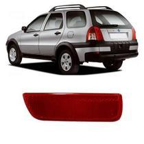 Refletor P/Choque Traseiro Palio Weekend 2005 a 2008 Esquerdo - Dsc