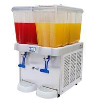 Refresqueira 2 Reservatórios de 16 Litros Cada Linha Comercial Juice Plus II Begel -