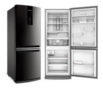 Refrigerador brastemp 443 litros inox 110v - bre57ak -