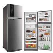 Refrigerador Brastemp Duplex FrostF Evox 478L 220V BRM59AK -