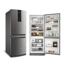 Refrigerador Brastemp Frost Free Inverse 443L Inox 127V BRE57AK -