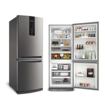 Refrigerador Brastemp Frost Free Inverse 443L Inox 220V BRE57AK -