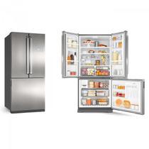 Refrigerador Brastemp Frost Free Inverse 540L BRO80 Inox -