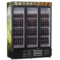 Refrigerador Cervejeira 1180 Litros 3 Portas Preto GRBA 1180PV Gelopar - 220v -