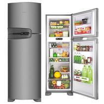 Refrigerador Consul Frost Free Duplex 386L Inox 127V CRM43NK -