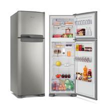 Refrigerador Continental Duplex Frost Free 370L Prata 127V TC41S -
