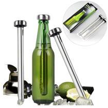 Refrigerador de Cerveja/ Vinhos Aço Inoxidável Pratico - Garota Bonita