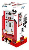 Refrigerador Duplex Xalingo - Mickey Mouse - Branco/vermelho -