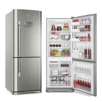 Refrigerador Electrolux Bottom Freezer Inverter 454L Inox 127V IB53X -