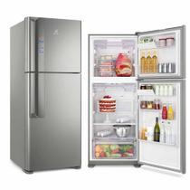 Refrigerador Electrolux Inverter Top Freezer 431L Platinum 127V IF55S -