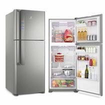 Refrigerador Electrolux Inverter Top Freezer 431L Platinum 220V IF55S -