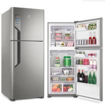 Refrigerador Electrolux Top Freezer 431L Platinum 127V TF55S -