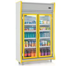 """Refrigerador/Expositor """"POP"""" Vertical Gemini GEVP 2 Portas Gelopar -"""