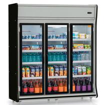 """Refrigerador/Expositor """"POP"""" Vertical Gemini GEVP 3 Portas Gelopar -"""
