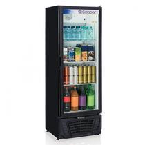 Refrigerador Expositor Vertical Frost Free 414L Profissional Gelopar 220V 295W Preto -