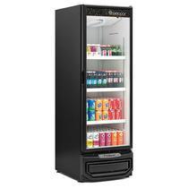 Refrigerador/Expositor Vertical GRV-57P PR Preto Degelo Automático Porta de Vidro Duplo Temperado Iluminação em LED 570 L Gelopar -