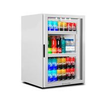 Refrigerador Expositor Vertical Para Bebidas 85 Litros Vb11rb Counter Top Branca 220v - Metalfrio -