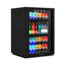 Refrigerador Expositor Vertical para Bebidas 85 Litros VB11RL Counter Top Preto 220V - Metalfrio -