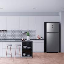 Refrigerador/Geladeira Midea Frost Free 480L Midea 127V Inox -