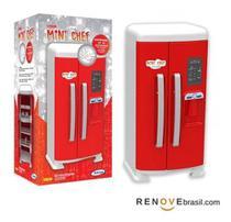 Refrigerador Infantil Mini Chef Duas Portas +acessórios - Xalingo