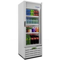 Refrigerador Vertical Expositor, Porta de Vidro, Controlador Eletrônico Metalfrio VB40RE, 350 litros, Branco -