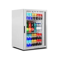 Refrigerador Vitrine Metalfrio 97 Litros, VB11, Porta de Vidro, Branco -