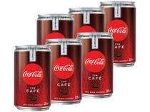 Refrigerante Coca-Cola Café Espresso 220ml - 6 Unidades