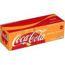 Refrigerante coca cola orange vanilla - caixa com 12 latas (355ml) -