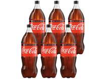 Refrigerante Coca-Cola Zero 6 Unidades - 2L