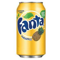 Refrigerante Fanta Abacaxi - Pineapple - Importada 355ml -
