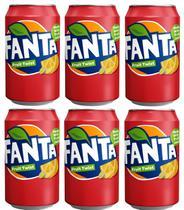 Refrigerante fanta fruit twist caixa com 6 latas 355ml -