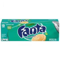 Refrigerante fanta grapefruit sabor toranja 12 latas 355ml -