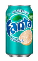 Refrigerante Fanta  Grapefruit Toranja  - 355 ml -