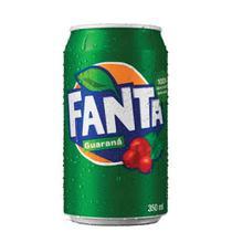Refrigerante Fanta Guaraná Lata 350ml -