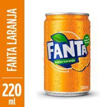 Refrigerante Fanta Laranja 220ml Lata -