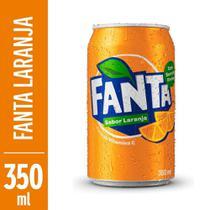 Refrigerante Fanta Laranja 350ml Lata -