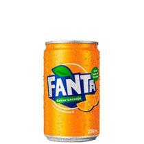Refrigerante Fanta Laranja Lata 220ml -