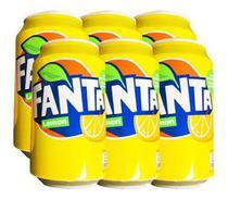 Refrigerante Fanta Lemon Sabor Limao Lata 355ml -