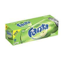 Refrigerante fanta maça verde 12 latas 355ml -