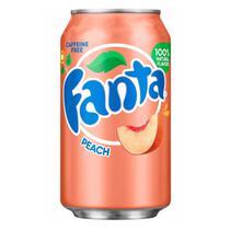 Refrigerante Fanta Peach Importado 330ml -