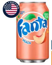 Refrigerante Fanta Peach -Pessego 355ml Importada Estados Unidos -