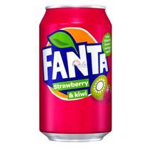 Refrigerante Fanta Strawberry & Kiwi 330ml -