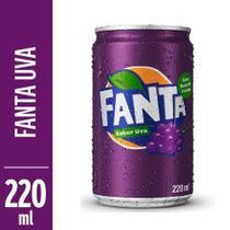Refrigerante Fanta Uva 220ml Lata -