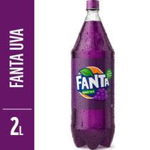 Refrigerante Fanta Uva 2L Garrafa -